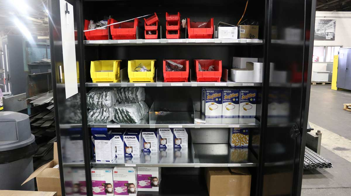 Strong Hold® Plus™ PPE Cabinet